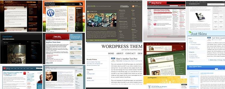 Scegliere un Tema per WordPress