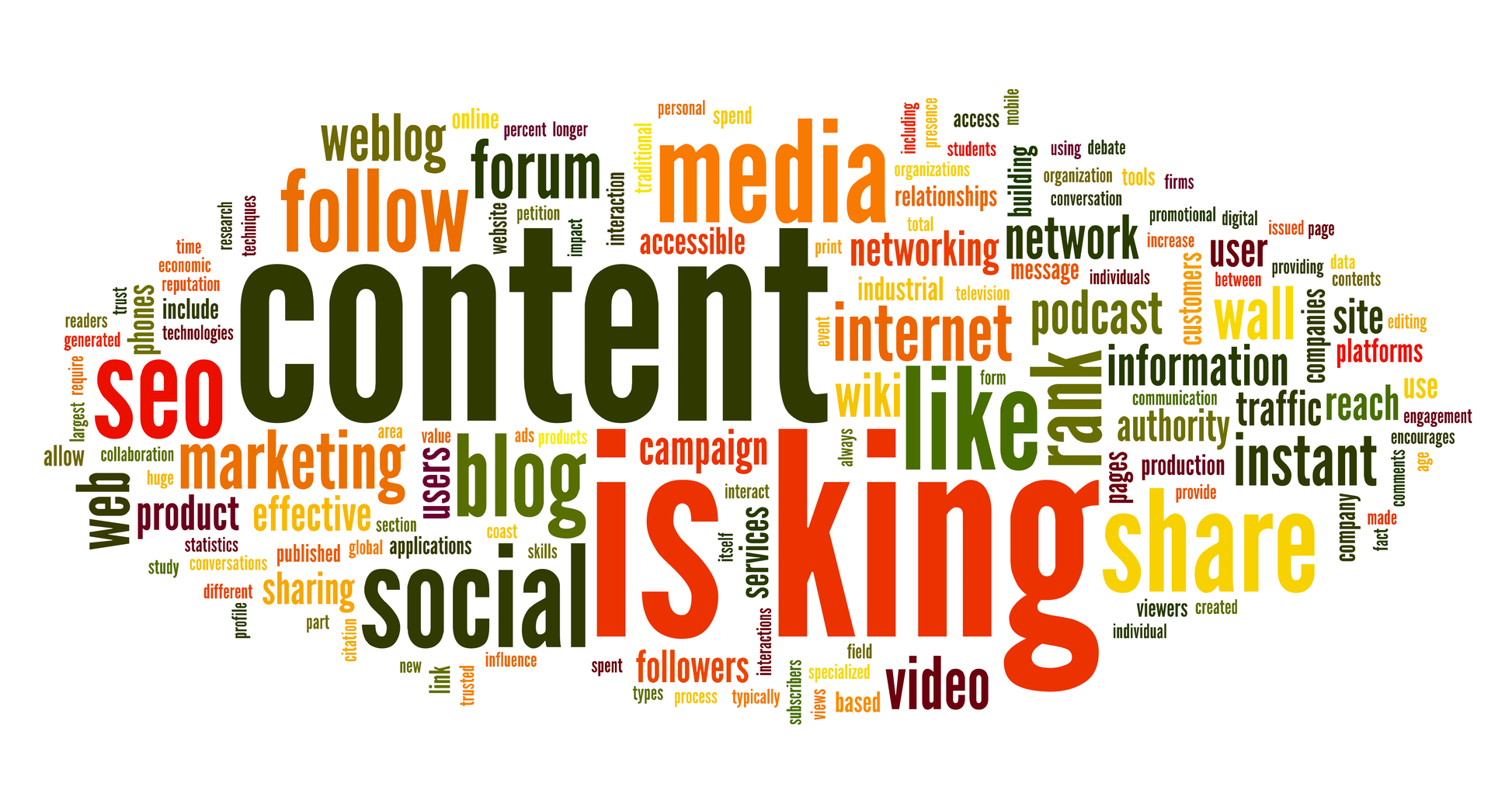 Content is king i contenuti prima di tutto